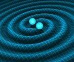 Las ondas gravitatorias constituyen fluctuaciones generadas en la curvatura del espacio-tiempo que se propagan como ondas a la velocidad de la luz.