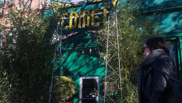 El dueño y los empleados de la pizzería Comet Ping Pong recibieron amenazas días antes de las elecciones en Estados Unidos. Foto: AFP.