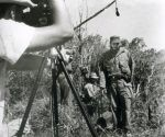 Filmación en la Sierra Maestra. Foto: Cortesía de Rebeca Chávez