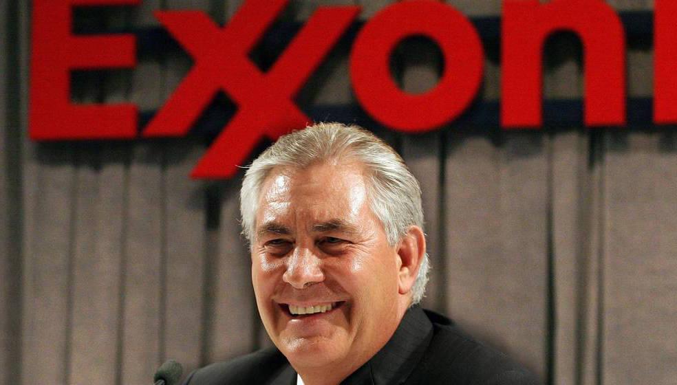 El presidente de ExxonMobil, Rex Tillerson. Foto: El Confidencial.