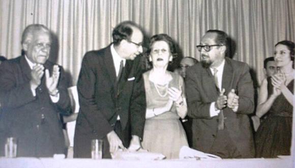 Carlos Rafael Rodríguez (derecha) junto al Canciller de la Dignidad. Foto: Archivo/ Trabajadores.