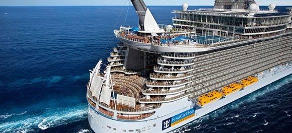 Crucero de Royal Caribbean. Foto: Royal Caribbean.