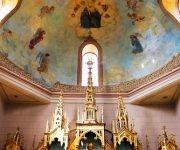 El Santuario Nacional del Rincón fue construido el 26 de febrero de 1917, desde entonces es sitio habitual de peregrinaje para todos aquellos que le profesan su fe a San Lázaro. Foto: Darío Gabriel Sánchez García/CUBADEBATE.