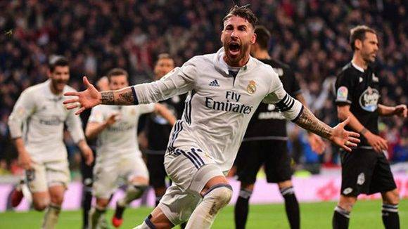 Sergio Ramos marcó otro gol decisivo en el descuento. Foto tomada de Marca.