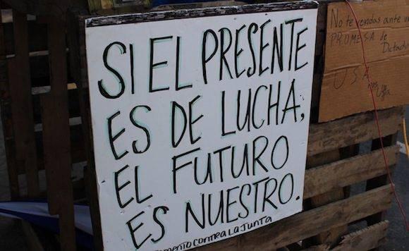 Resistencia cultural en la Universidad de Río Piedras, en Puerto Rico.