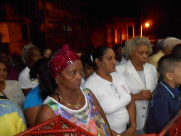 Songo La Maya en Santiago de Cuba homenaje al Líder de la Revolución, fotos Castro Milán