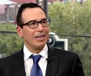 Steven Mnuchin: es banquero y trabajó para el grupo Goldman Sachs. Trump lo eligió como el secretario del Tesoro número 77 de los Estados Unidos. Fue el fundador del hedge fund Dune Capital, que invirtió en películas como Avatar y X-Men. Foto: Archivo.