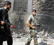 Los grupos terroristas que apoya la OTAN contaminaron el agua en Damasco. Foto tomada de La Gaceta de España.