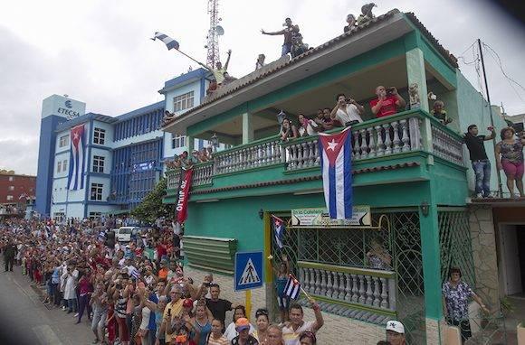 Tributo a Fidel en la zona central de Cuba