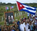 Recorrido de la caravana #TributoAFidel por las provincias cubanas. Foto: Ladyrene