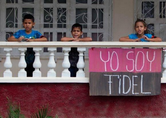 Tributo en Santiago de Cuba. Foto: Ladyrene Pérez/Cubadebate