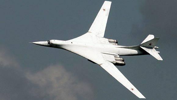 El bombardero Túpolev Tu-160. Foto: Viktor Korotayev/Reuters