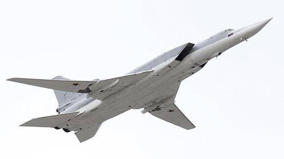 Un bombardero Tu-22M3- Foto: Ilya Pitalev/Sputnik