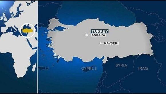 Los hechos ocurrieron en la ciudad de Kayseri. Foto: Youtube.