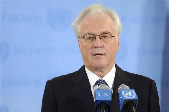 El embajador de Rusia ante la ONU, Vitaly Churkin. Foto: Archivo Prensa Latina.