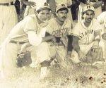 1.- Nené Martínez (izq.) Mongo Barrios y El Niño Cortina (derecha).