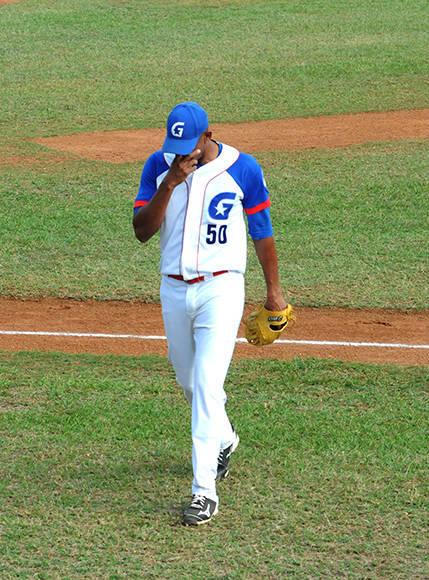 Yoalkys Cruz tuvo una noche negra. Foto: Katheryn Felipe/Cubadebate.