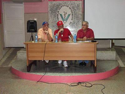 En el Consejo Científico Veterinario de Pinar del Río.