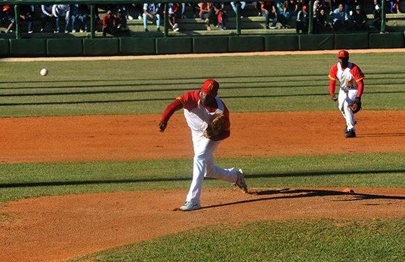 Jonder Martínez no pudo reeditar su faena del segundo desafío. Foto: Katheryn Felipe/Cubadebate.