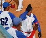 Benítez pegó jonrón y doble. Foto: Katheryn Felipe/Cubadebate