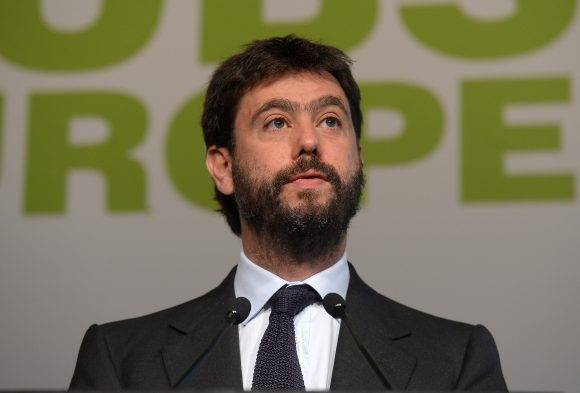 Andrea Agnelli, presidente de la Juve. Foto tomada de European Club Association.