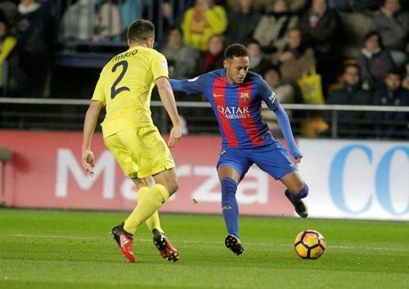 Neymar se vio errático al pisar el área. Foto tomada de Marca.