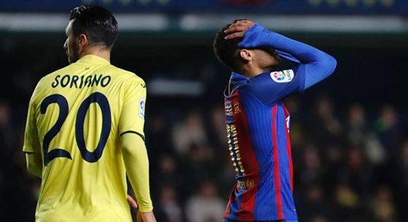 El Barcelona se sintió impotente en varios tramos de partido. Foto tomada de Marca.