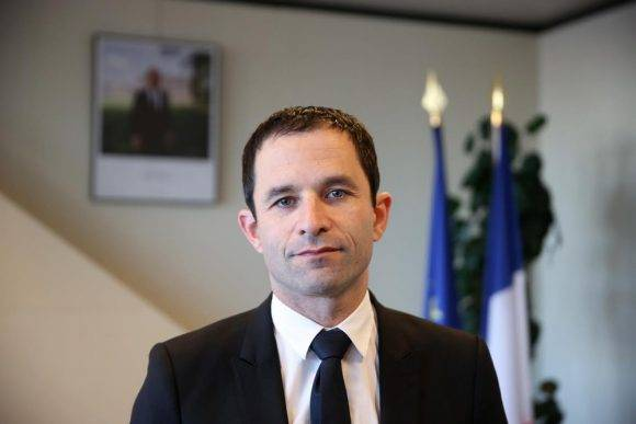 Benoit Hamon. Foto tomada de López-Dóriga Digital.