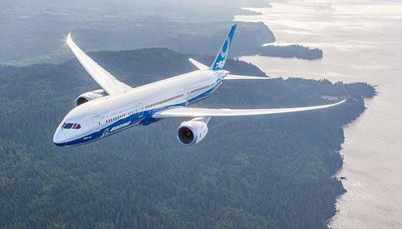 Boeing 787 Dreamliner. Foto tomada de Boeing.com.
