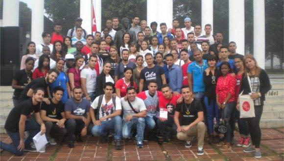 Consejo Nacional de la FEU. Foto: Thalía Fuentes