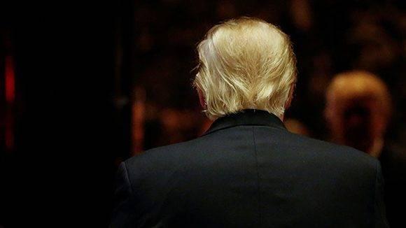 Donald Trump en la Torre Trump de Nueva York, el 13 de enero de 2017. Foto: Shannon Stapleton/ Reuters.