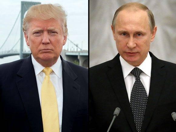 Donald Trump y Vladimir Putin. Foto: El 19 Digital.