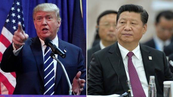 Donald Trump y Xi Jinping. Foto tomada de CNN.