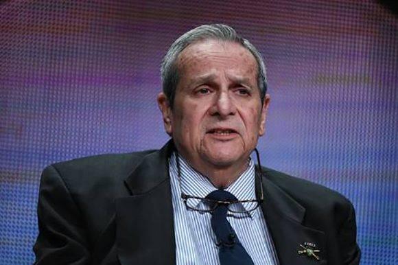 El ex oficial de la CIA Félix Rodríguez Mendigutía, en imagen de junio de 2015. Foto: AP.