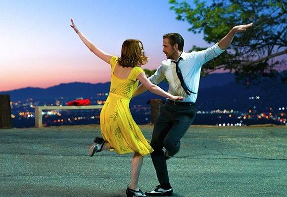 """""""La La Land"""" rompió el récord histórico de más premios Globo de Oro. Foto: Captura de pantalla."""