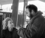 Fidel Castro y la periodista estadounidense Lisa Howard.