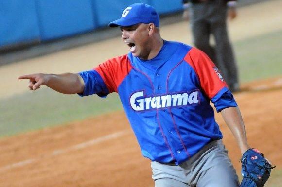 Beisbol-Serie-56-Final-CA vs GRM primer juego Miguel Lahera lanzador ganador. Foto: Ricardo López Hevia / Granma / Cubadebate