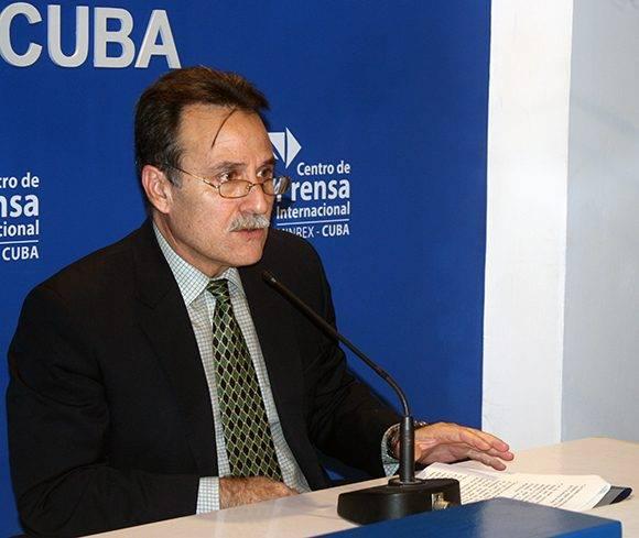 Gustavo Machín, subdirector para EE.UU. del Minrex. Foto: José Raúl Concepción/ Cubadebate.