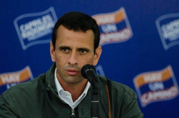 Henrique Capriles. Foto tomada de RunRun.es.