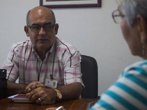 José Manuel Delgado de Castro, director de Capital Humano, de Copextel. Foto: L. Eduardo Domínguez/ Cubadebate.