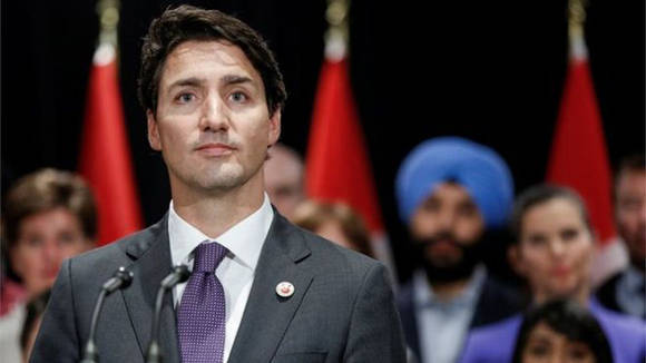 Justin Trudeau, primer ministro de Canadá había dicho que su país acogería a los refugiados, a diferencia de lo planteado en la orden ejecutiva de Donald Trump. Foto: Reuters.