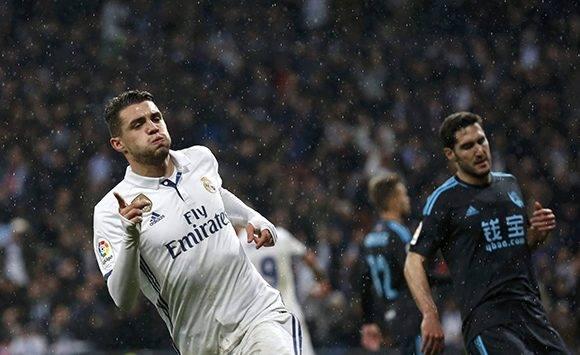 Kovacic realizó un gran partido, en la imagen celebra su gol. Foto: Susana Vera/ Reuters.