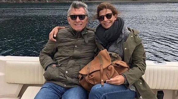 Macri retornará a la capital argentina el próximo domingo y lleva ya más de 40 días de vacaciones desde que asumió el cargo en diciembre de 2015. Foto: Instagram