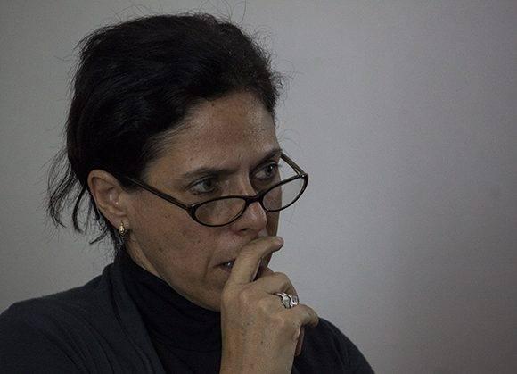 Maité Hernández, Directora de Comunicación de Casa de las Américas. Foto: L Eduardo Domínguez/ Cubadebate