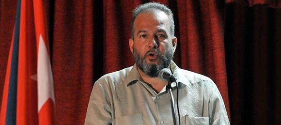 Manuel Marrero, ministro de Turismo de Cuba. Foto. EFE.