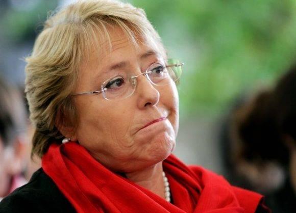 Michelle Bachelet. Foto tomada de Portalnet.