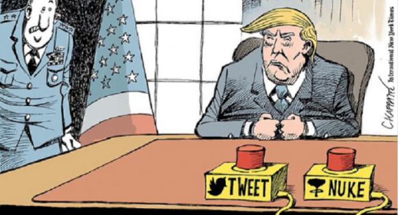 Nuke or Tweet?