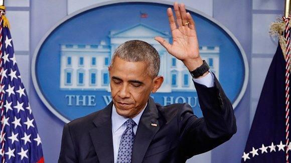 """Política de """"pies secos-pies mojados"""" no tenía sentido, asegura Barack Obama"""