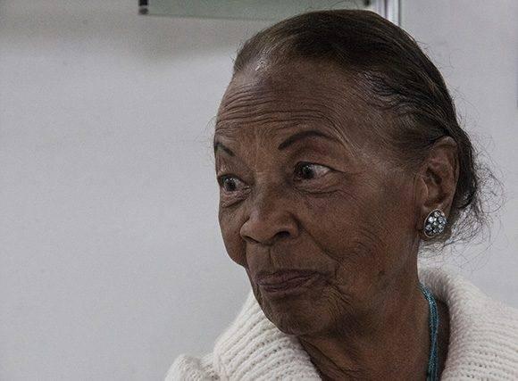 Rina, la profe. Foto: L Eduardo Domínguez/ Cubadebate