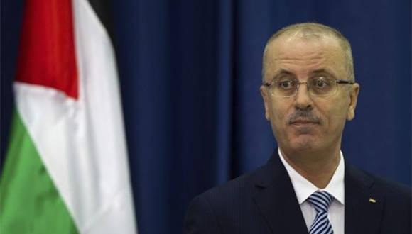Primer Ministro de Palestina, Rami Hamdala. Foto: EFE.